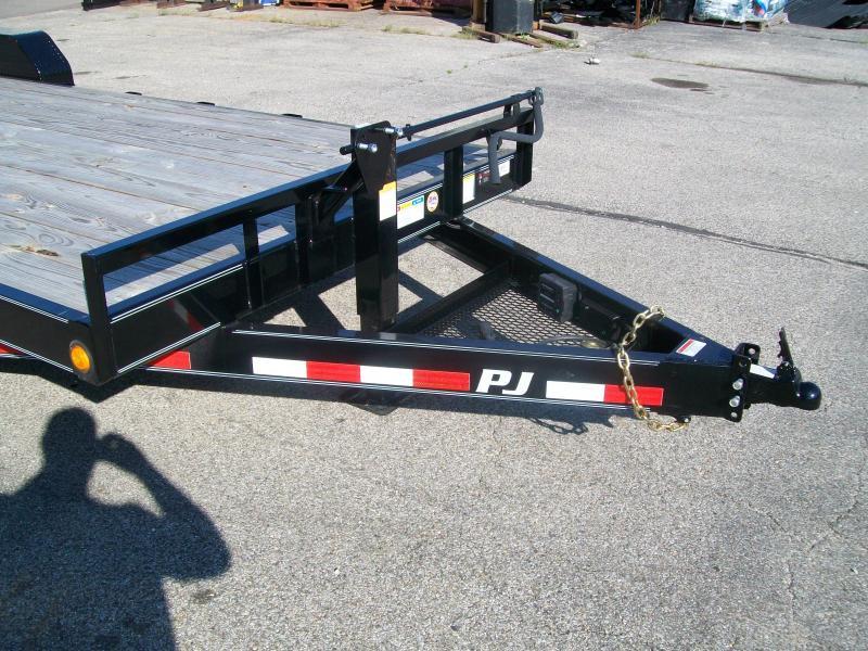 "2019 PJ CC 83""X18' 14K GVWR Equipment Trailer"
