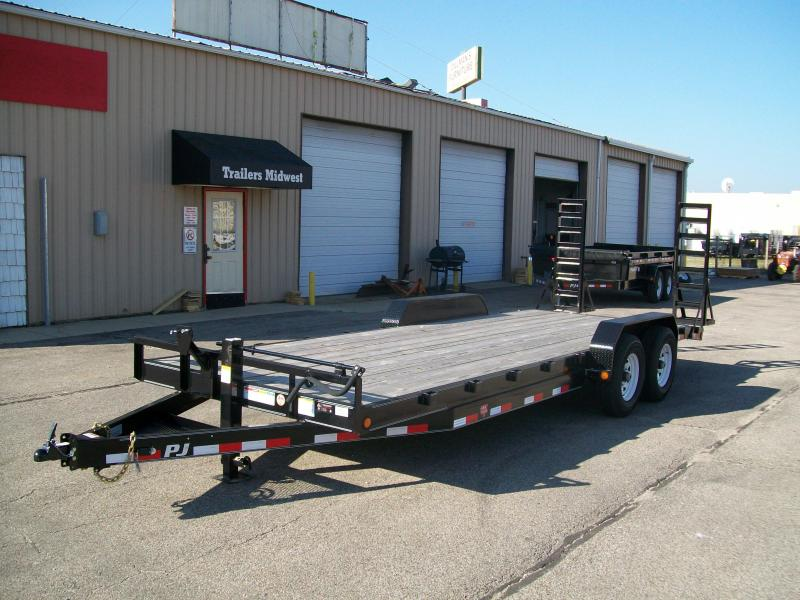 "2019 PJ CC 83""X18' 14K GVWR Car/Equipment Trailer"