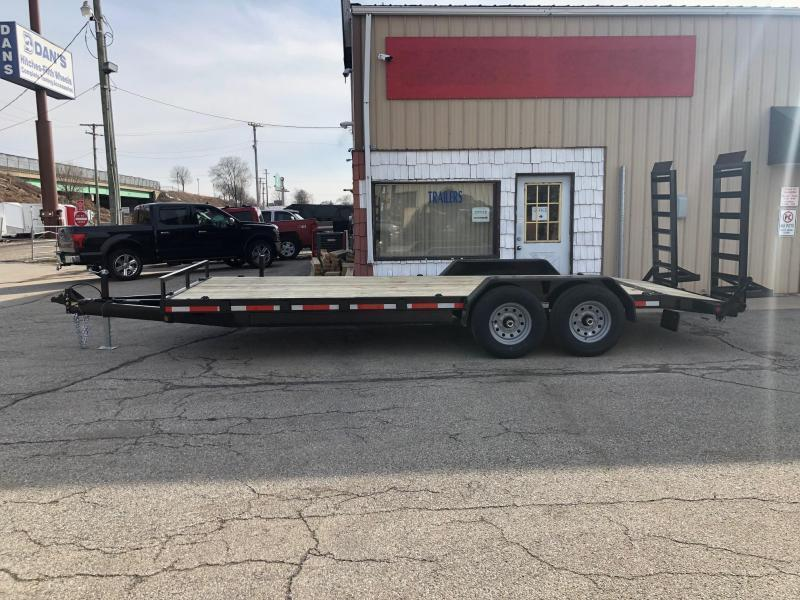 "2019 Quality Steel 83""X24' 14K GVWR Equipment Trailer $4665"