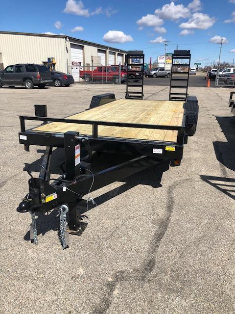 "2019 Quality Steel 83""X20' 14K GVWR Equipment Trailer"