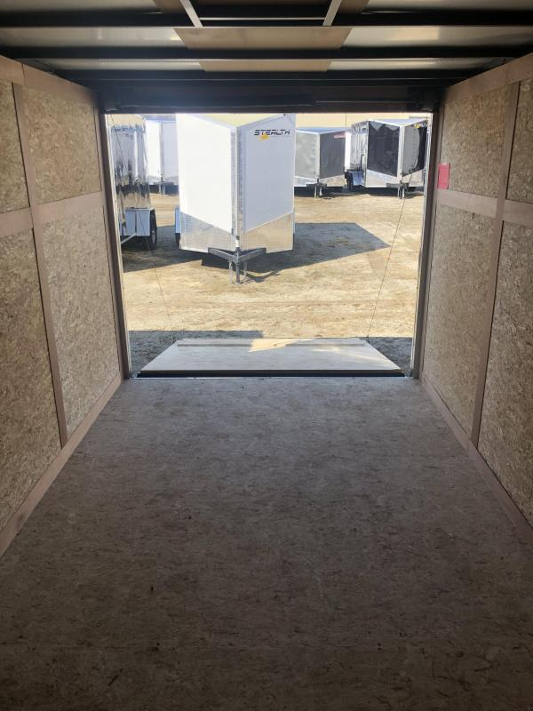 2019 Stealth Mustang 6X10 Single Axle Cargo Trailer