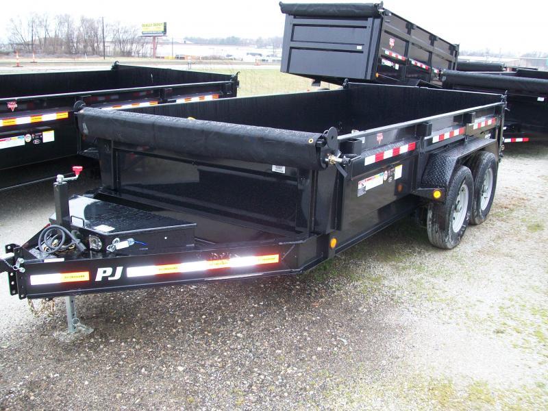 """2019 PJ DL 83"""" X 14' 14K GVWR Dump Trailer $7900"""