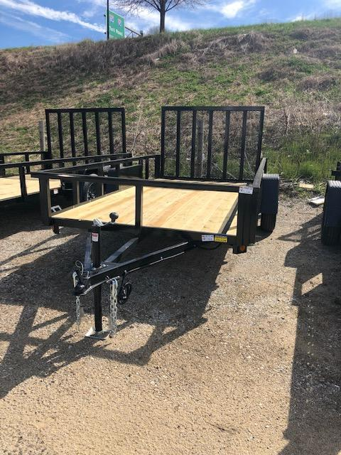 2020 Quality Steel 6X12 Utility Trailer   $1600