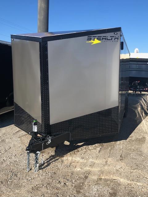 2020 Stealth Titan 8.5X20 10K GVWR Blackout Trailer