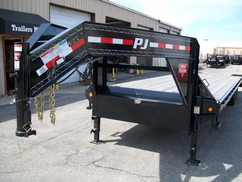 """2019 PJ FS 102""""X30' 15680 GVWR Flatbed Trailer"""