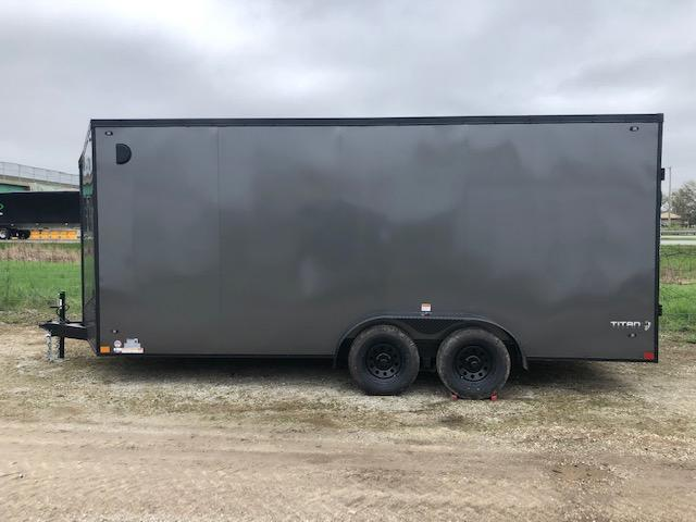 2020 Stealth Titan 7X18 7K GVWR Blackout Cargo Trailer  $6100
