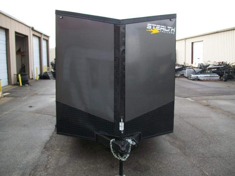 2020 Stealth Titan 7X18 7K GVWR Blackout Cargo Trailer  $6100