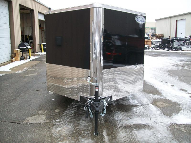 2019 Continental Cargo V-Low 7X12 7K GVWR Motorcycle Trailer