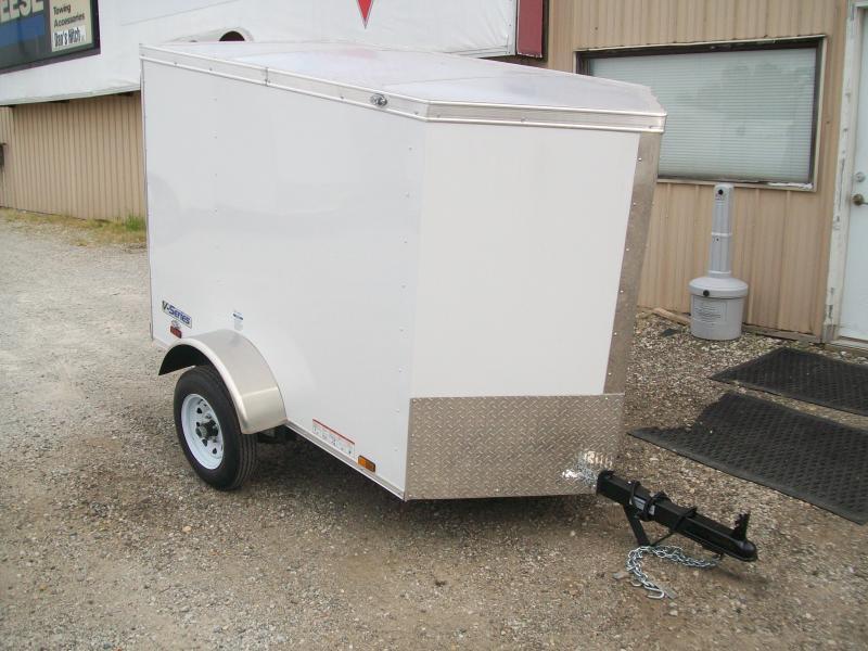 2019 Continental Cargo V-Series 4X6 Enclosed Cargo Trailer