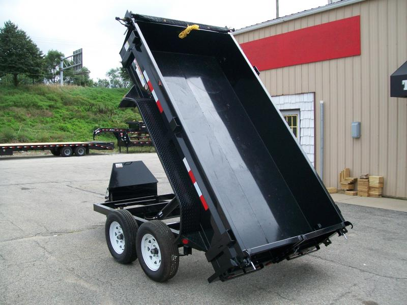 2019 PJ D5 5X10 7K GVWR Dump Trailer