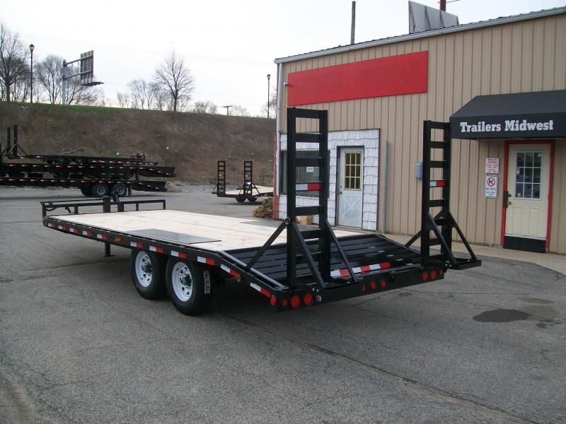 "2019 PJ F8 96""X20' 14K GVWR Deck Over Trailer"