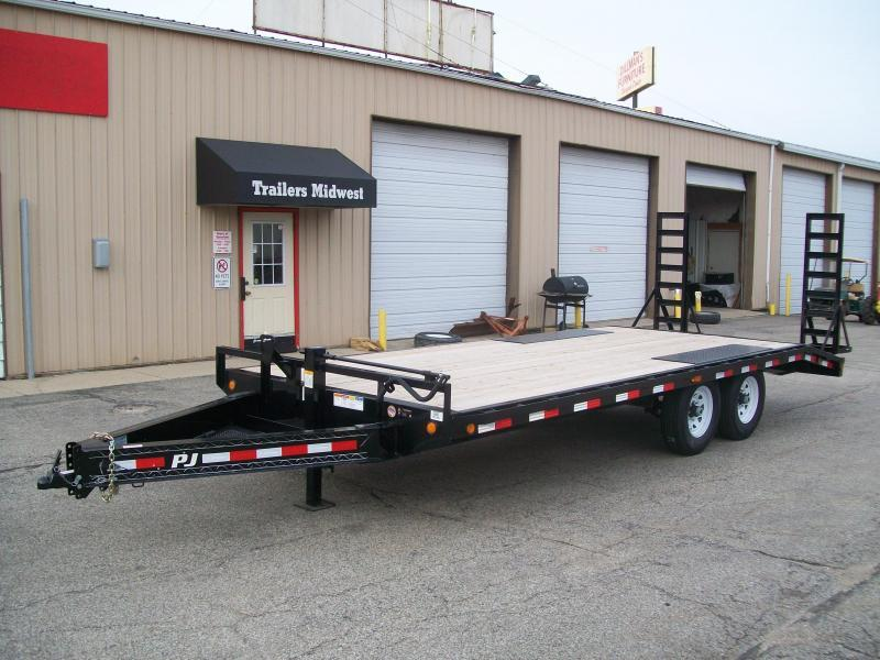 "2019 PJ F8 96""X20' 14K GVWR Deck Over Trailer $5337"