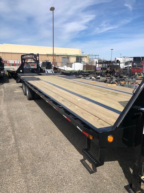 "2020 PJ LD 102"" x 25' 25K GVWR Flat Bed Trailer $10990"