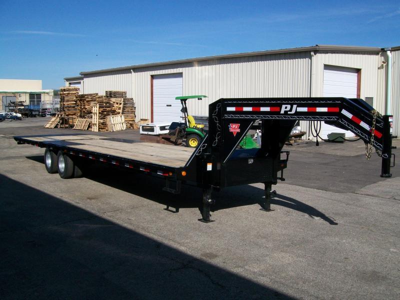 "2019 PJ LY 102""X34' 25K GVWR Flatbed Trailer"