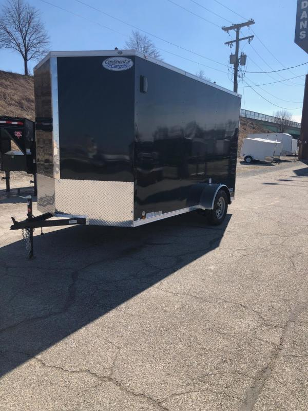 2020 Continental V-Series 6.5X12 Single Axle Cargo Trailer $3286