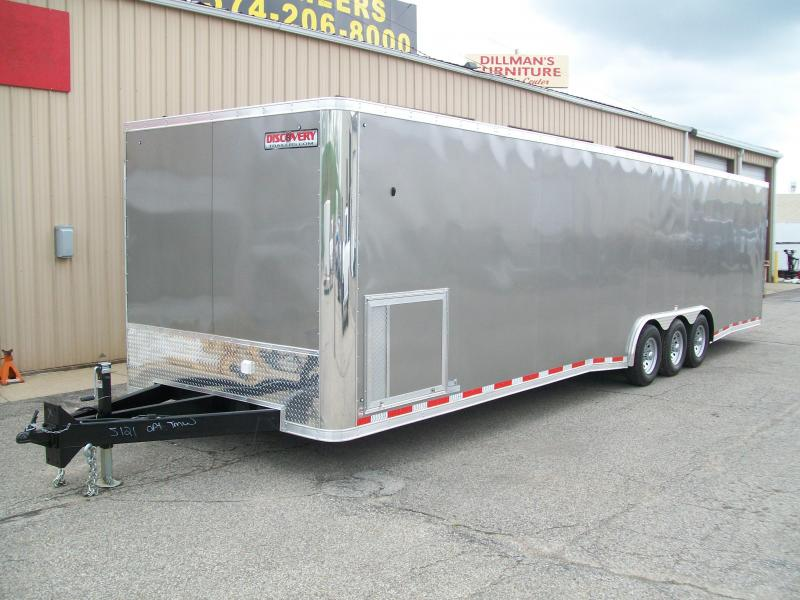 2020 Discovery Challenger SE 8.5X32 15600 GVWR Enclosed Car Trailer On Sale $14750