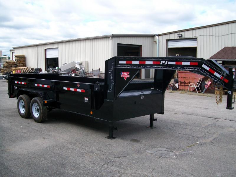 "2019 PJ DL 83""X16' 15680 GVWR Dump Trailer"