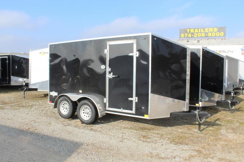 2019 Stealth Mustang 7X12 7K GVWR Enclosed Cargo Trailer