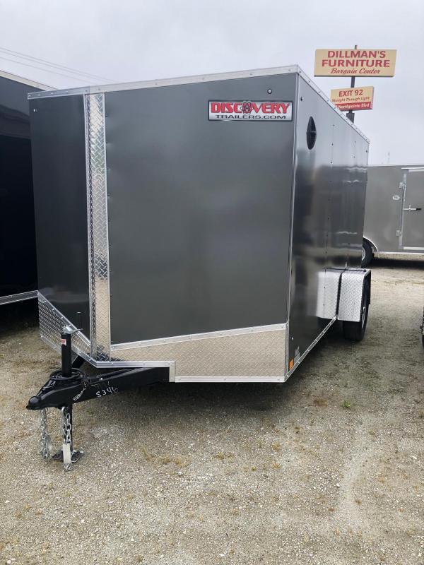 2020 Discovery Rover ET 7X12 Cargo Trailer $3425
