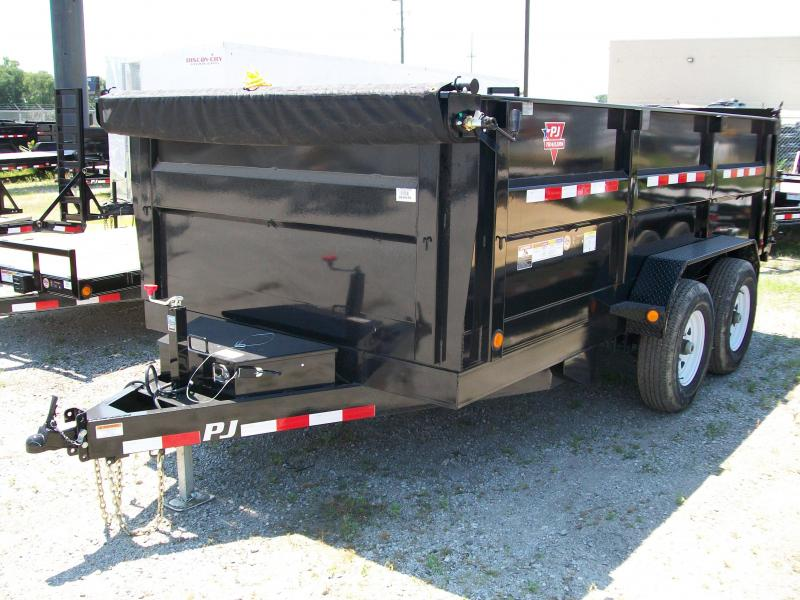 "2020 PJ DM 83""X14' 14K GVWR 3' High Side Dump Trailer $8265"