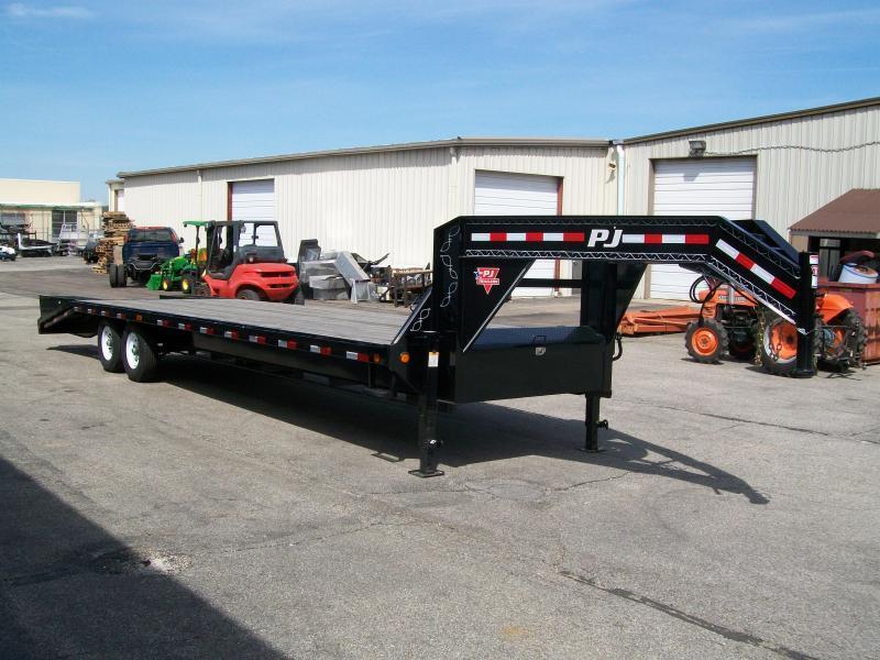 2020 PJ LS 102' X 25' 15680 GVWR Flatbed Trailer $7698