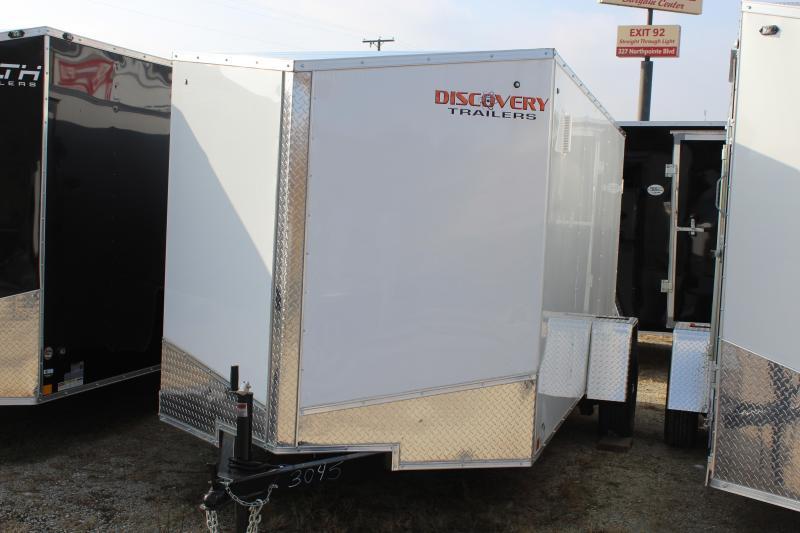 2019 Discovery Rover ET 6X12 7K GVWR Enclosed Cargo Trailer