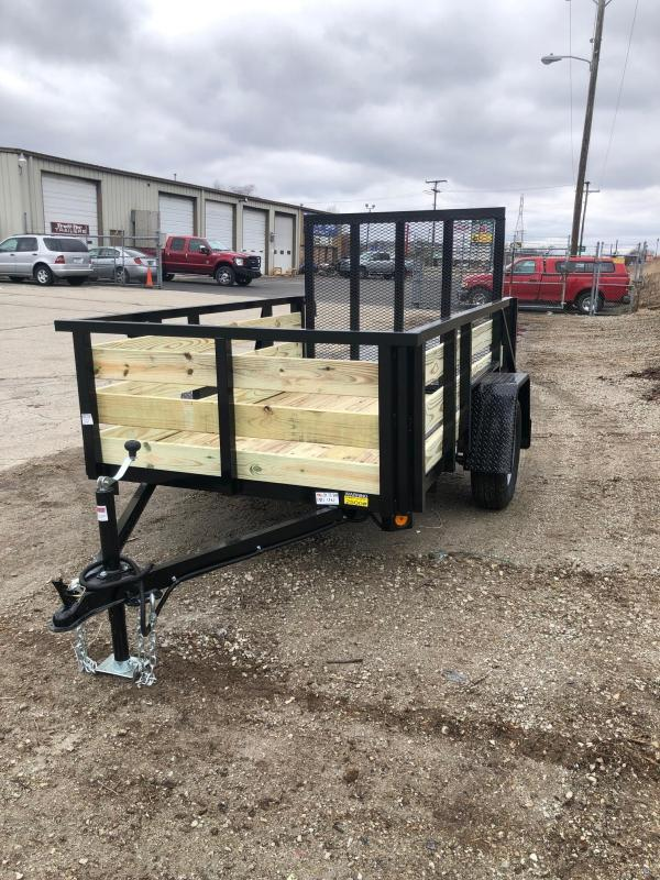 2020 Quality Steel 5X8 High Side Utility Trailer $1475