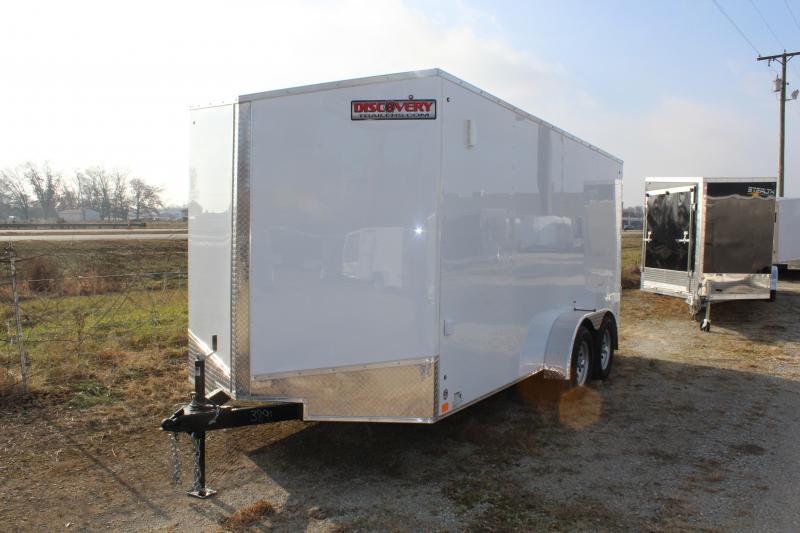 2020 Discovery Rover ET 7X18 7K GVWR Cargo Trailer $4675