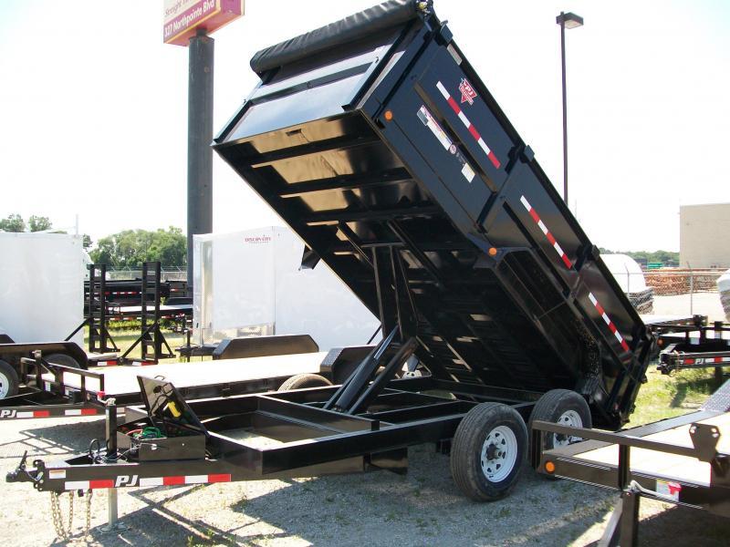 """2019 PJ DM 83""""X14' 14K GVWR  Dump Trailer"""