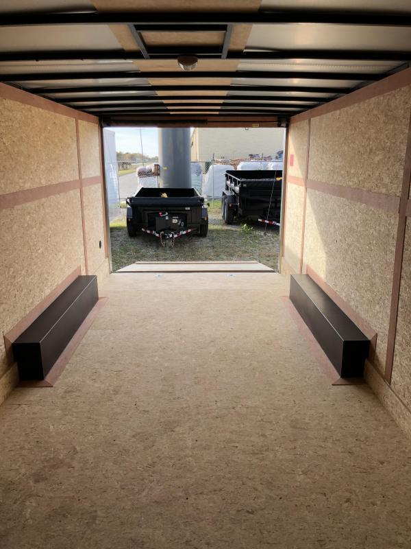 2020 Stealth Titan 8.5X24 10K GVWR Enclosed Car Trailer $7325