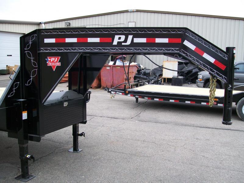 "2019 PJ FD 102""X25' 25K GVWR Flatbed Trailer"