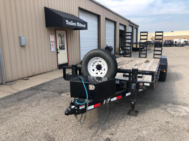 "2016 PJ CC 83""x20' 14K GVWR Equipment Trailer $4875"