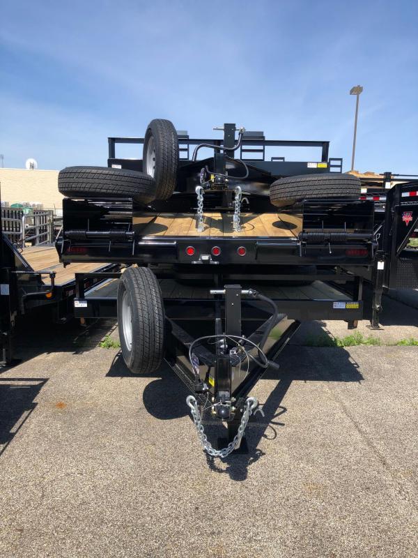 "2020 Quality Steel 102"" X 20' 14K GVWR Flatbed Trailer $5240"