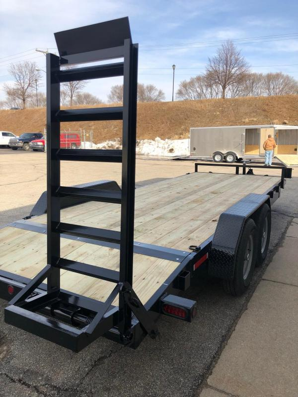 "2019 Quality Steel 83""X22' 14K GVWR Equipment Trailer"