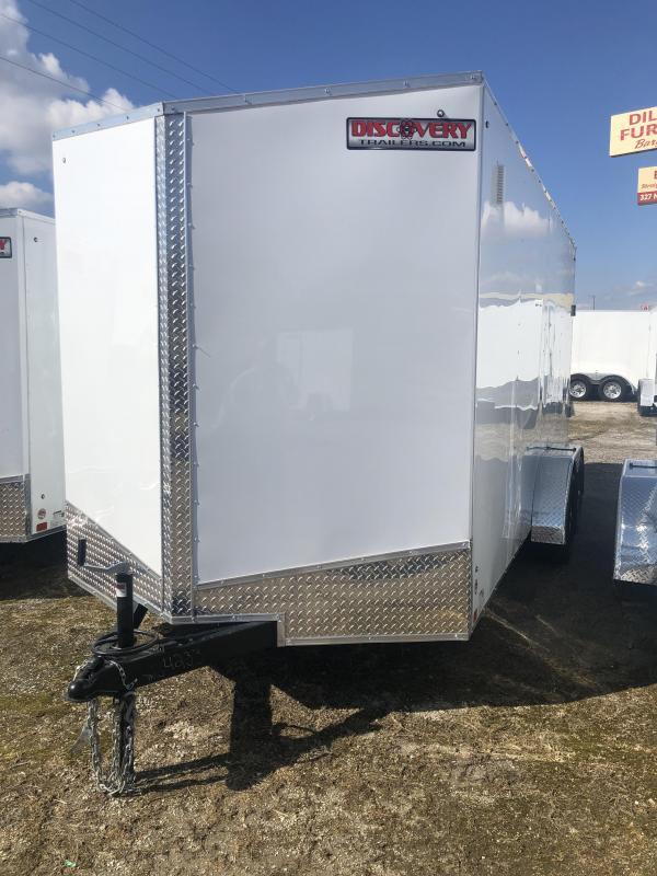 2020 Discovery Rover ET 7X14 7K GVWR Cargo Trailer $4200