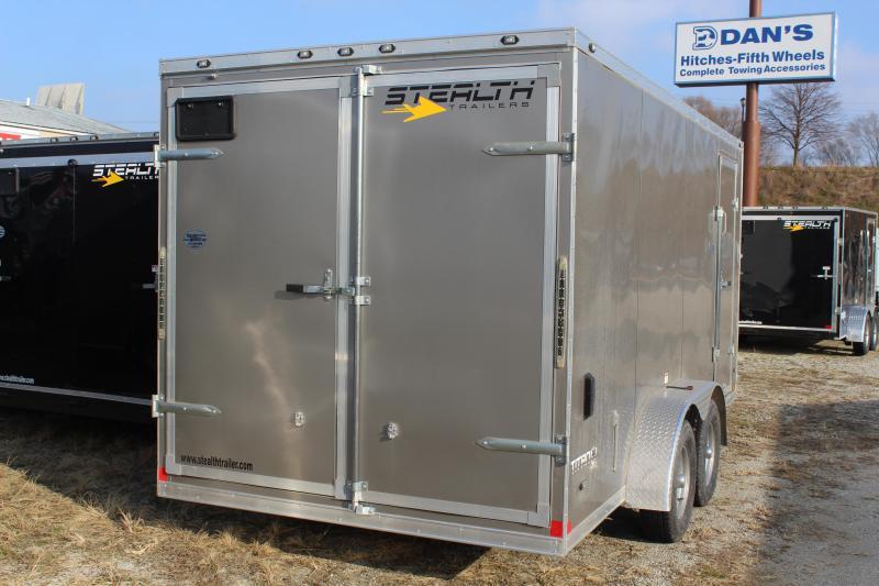 2019 Stealth Titan 7X16 7K GVWR Cargo Trailer