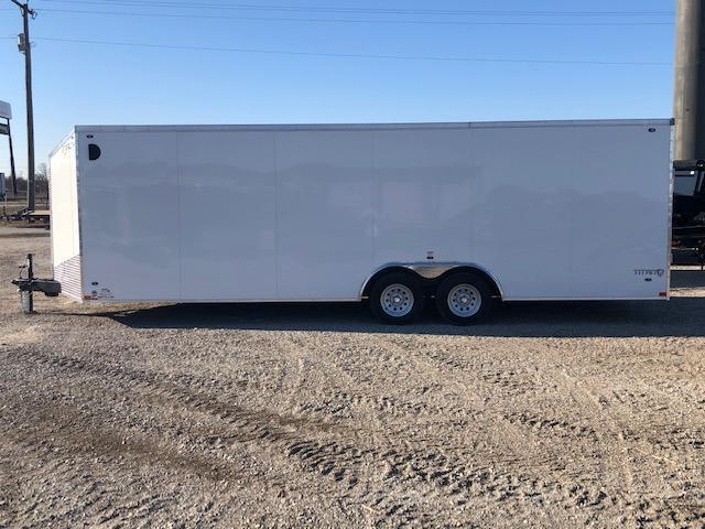 2020 Stealth Titan 8.5X24 7K GVWR Car Trailer