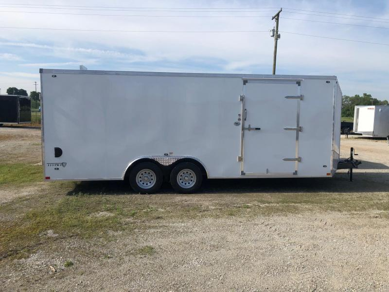 2020 Stealth Titan 8.5X20 7K GVWR Enclosed Car Trailer $6000