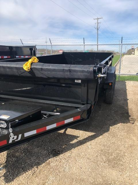"""2020 PJ DL 83"""" X 14' 14K GVWR Dump Trailer $8360"""
