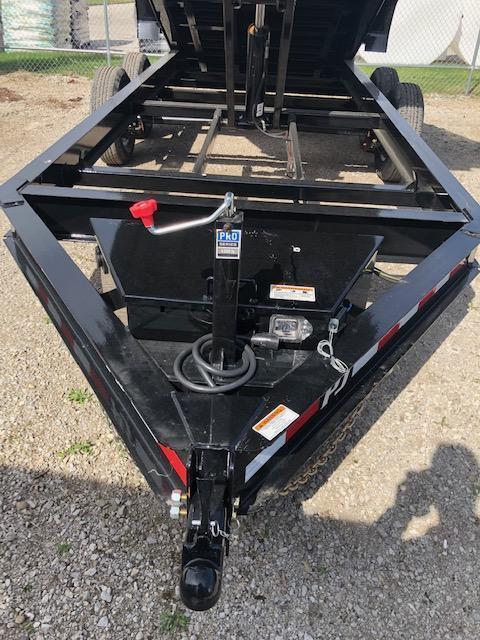 """2020 PJ DL 83"""" X 14' 14K GVWR Dump Trailer On Sale $7995"""