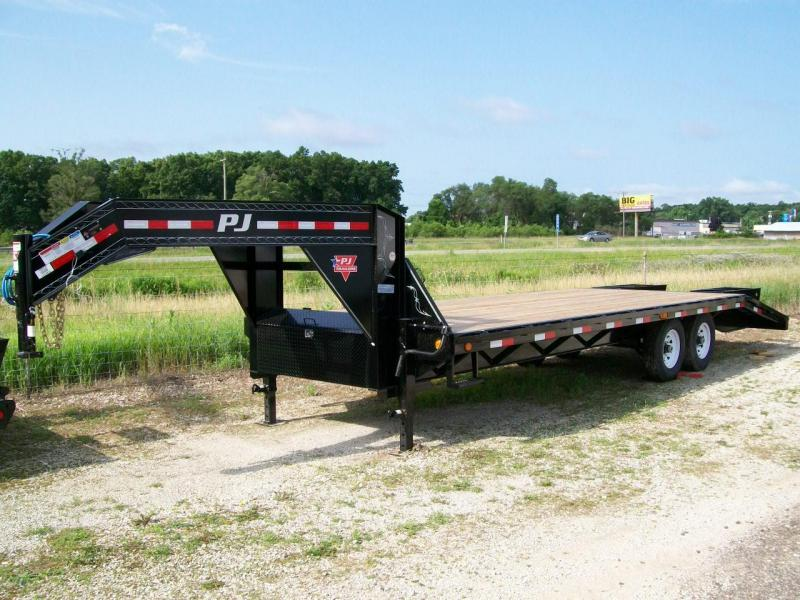 "2019 PJ FS 102""X28' 15680 GVWR Deck Over Trailer"