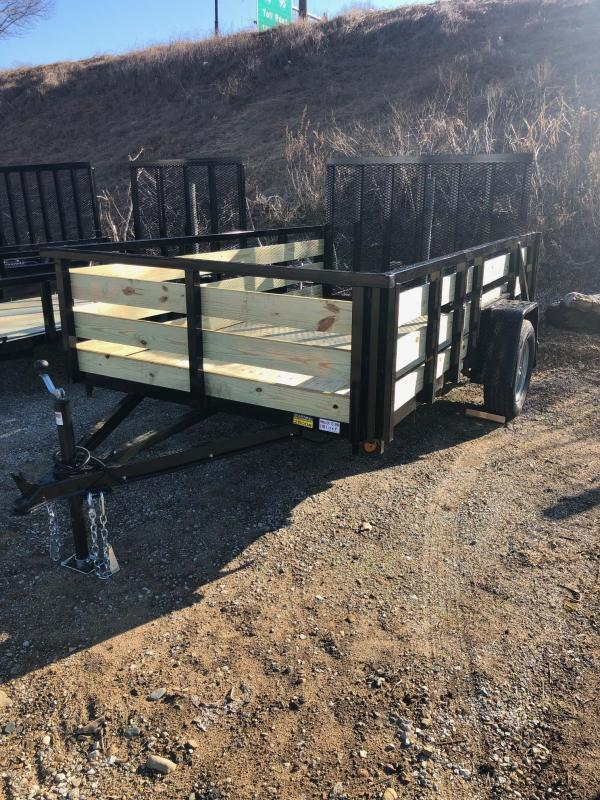 2020 Quality Steel 6X10 High Side Utility Trailer $1700