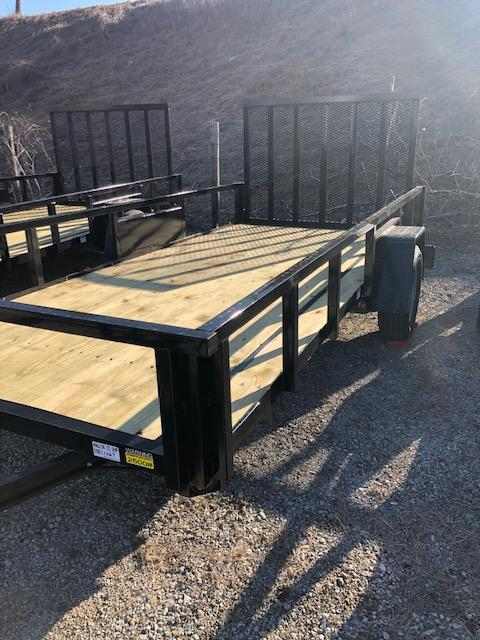 2020 Quality Steel 6X14 Utility Trailer