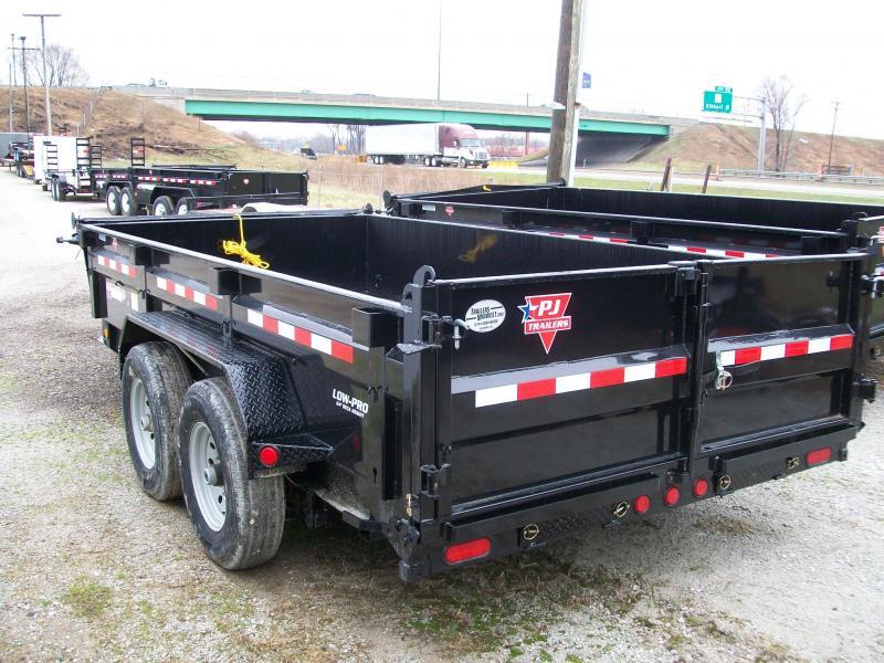"""2019 PJ DL 83""""X16' 14K GVWR Dump Trailer"""