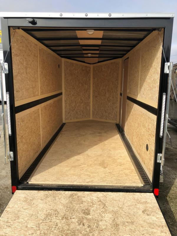 2019 Discovery Rover ET 6X12 7K GVWR Enclosed Cargo Trailer