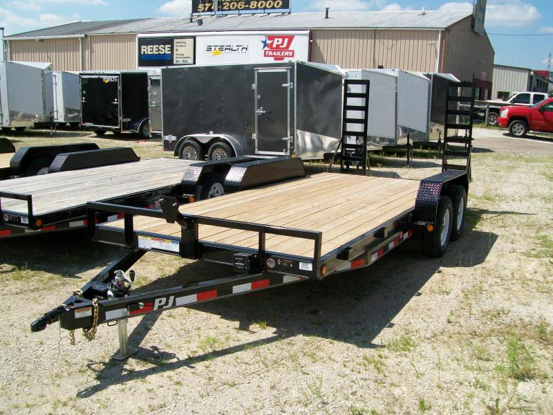"2019 PJ C5  83""X18' 7K GVWR  Car/Equipment Trailer"