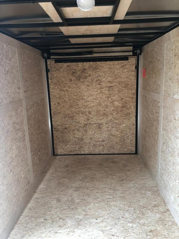 2020 Stealth Mustang 6X12 Single Axle Blackout Cargo Trailer $3440