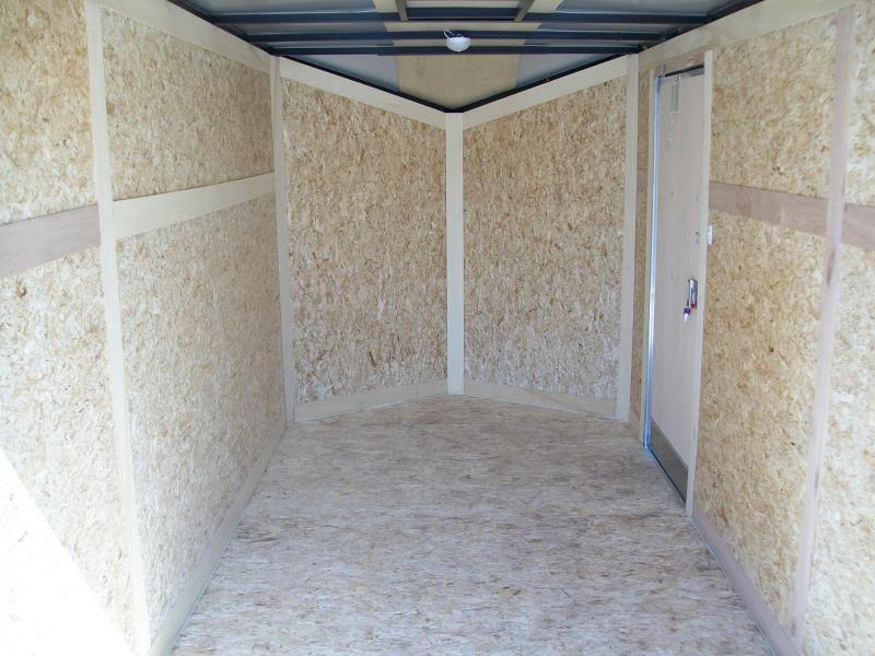2019 Stealth Mustang 6X12 Single Axle Cargo Trailer