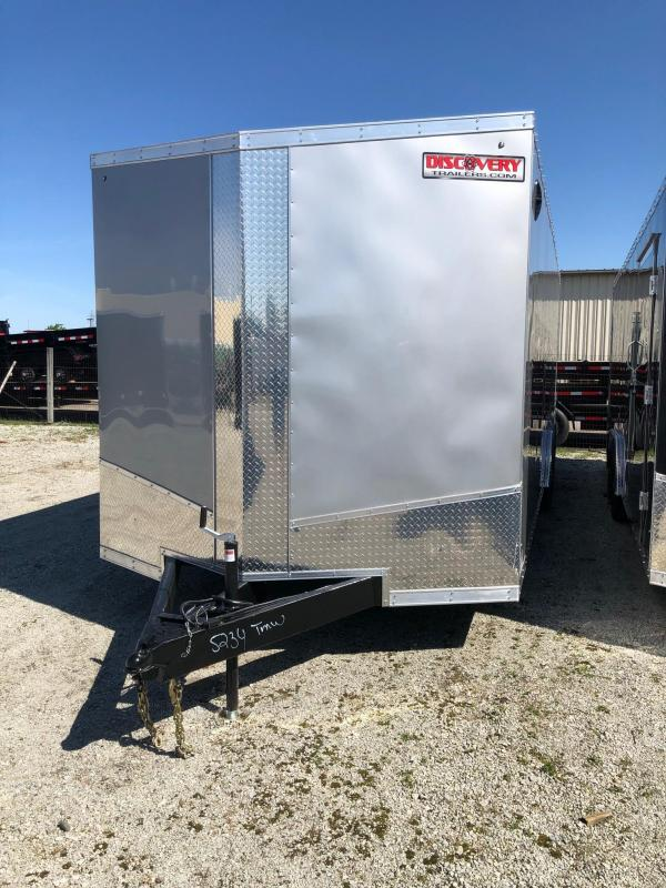 2020 Discovery Trailers Challenger SE 8.5X24 10K GVWR Enclosed Car Trailer $8930