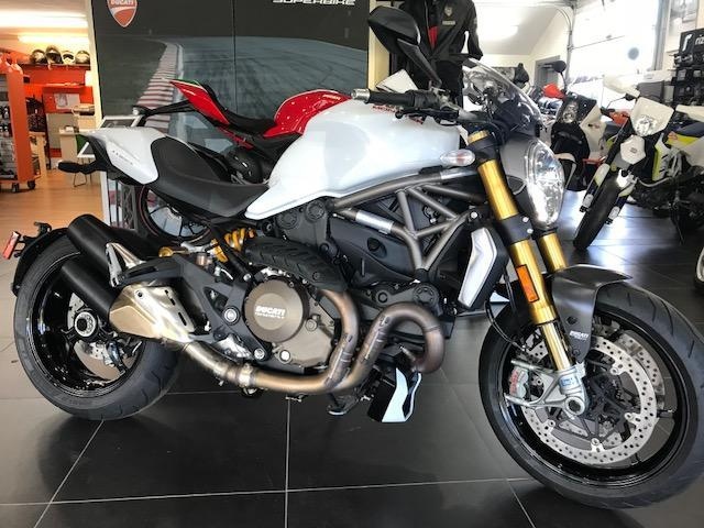 2015 Ducati Monster 1200 S White